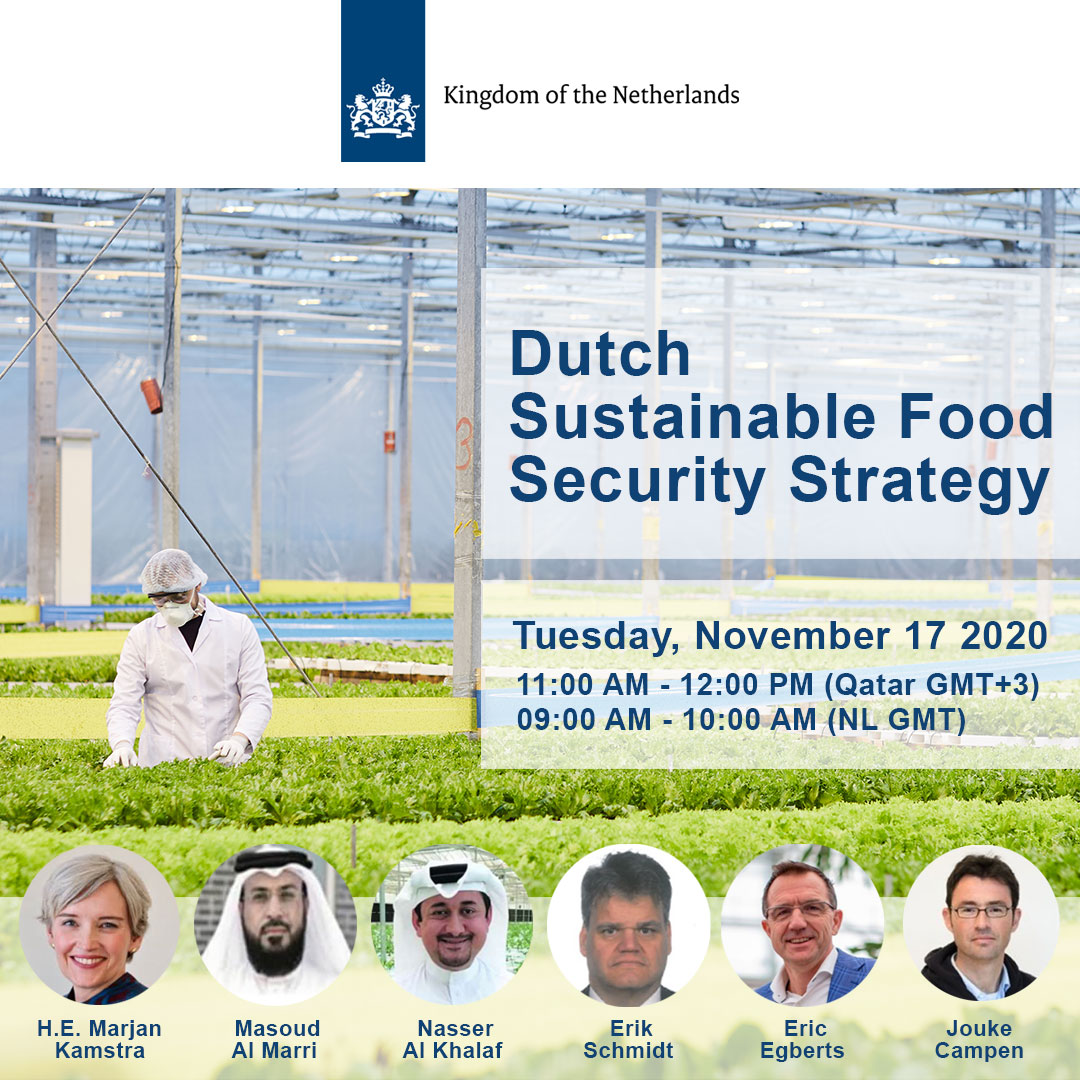 Dutch Sustainable Food Security Strategy Webinar