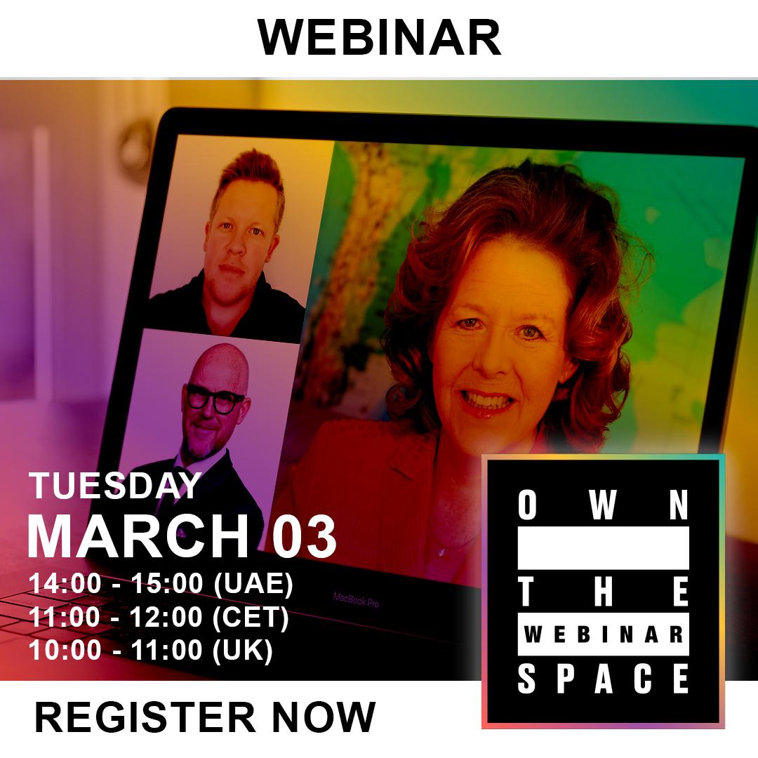 Own the Webinar Space