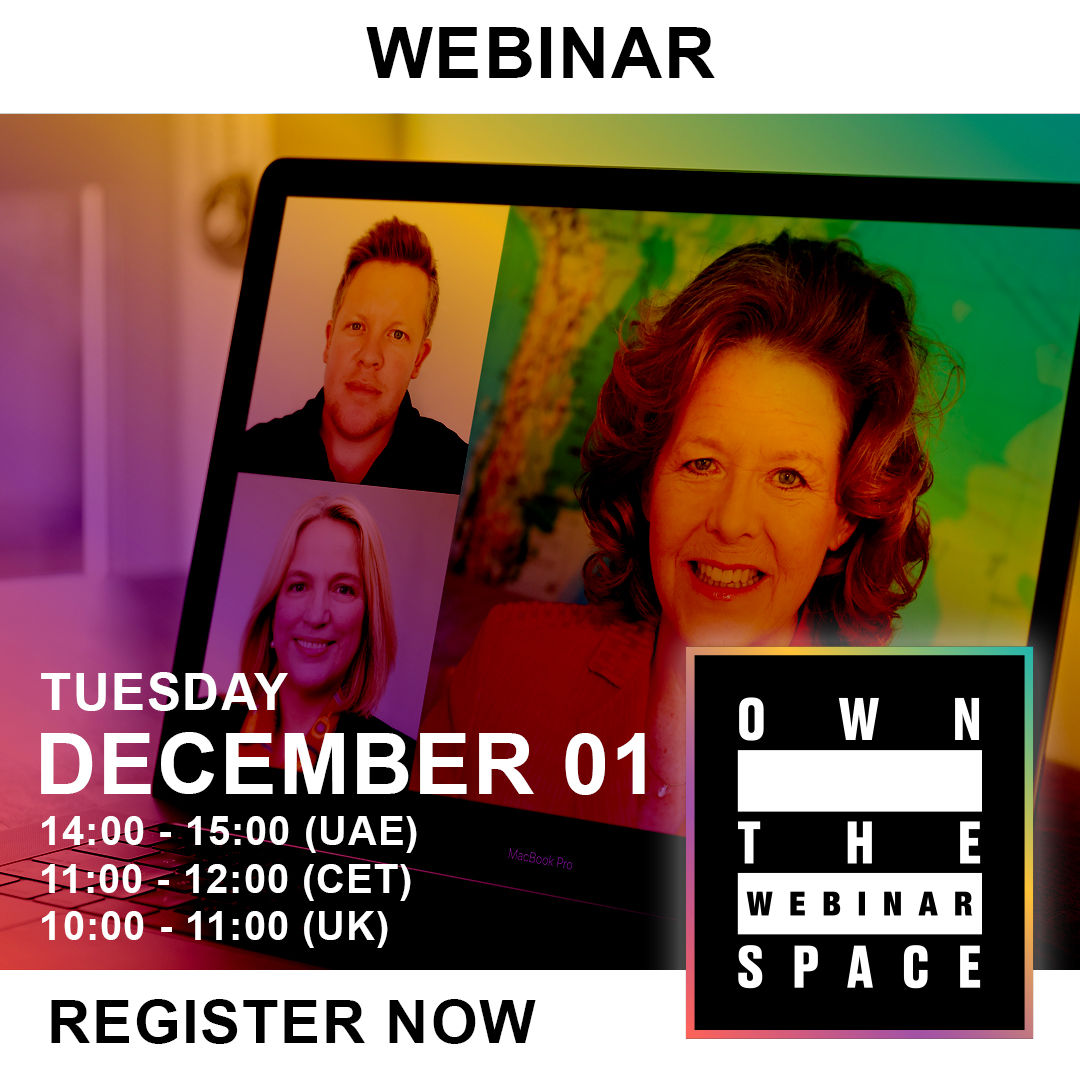 Own the Webinar Space